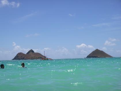 ハワイ2013.7ラニカイビーチ1
