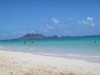 ハワイ2013.7ラニカイビーチ2