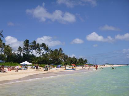ハワイ2013.7ラニカイビーチ3