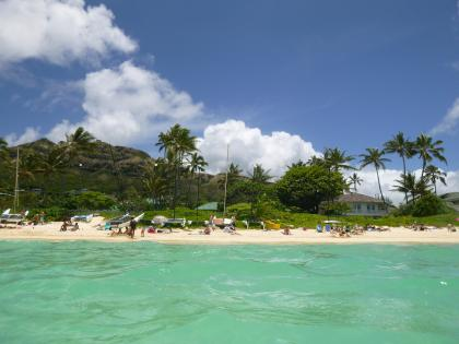 ハワイ2013.7ラニカイビーチ4