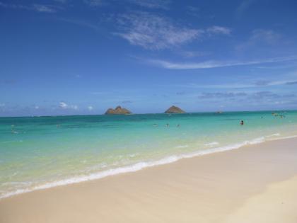 ハワイ2013.7ラニカイビーチ5