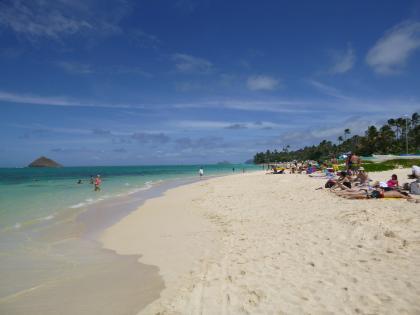 ハワイ2013.7ラニカイビーチ6