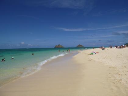 ハワイ2013.7ラニカイビーチ7