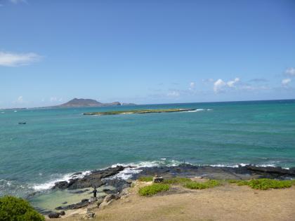 ハワイ2013.7ラニカイ入口2