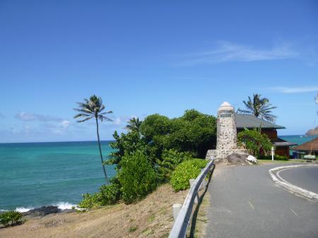 ハワイ2013.7カイルア入口