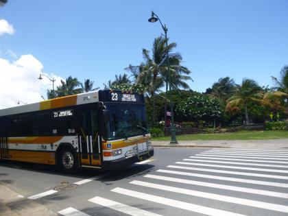 ハワイ2013.7市バス