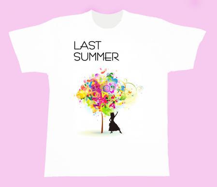 ラストサマーTシャツ