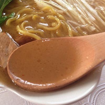 木蓮みそスープ