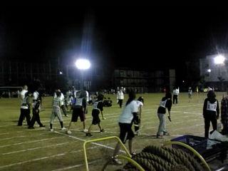 市高 夜の運動会