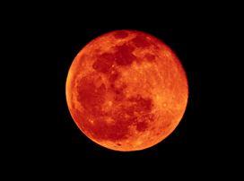 月蝕 ブラッドムーン