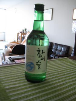 韓国のお土産 焼酎