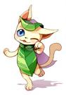 葉猫カワユス