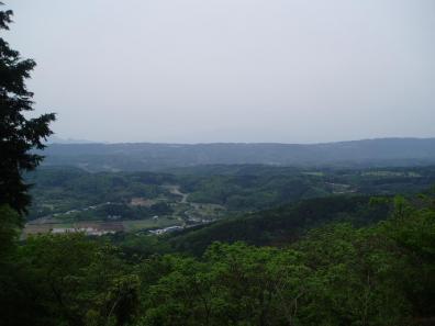 麓の展望台
