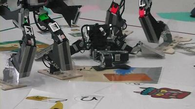 D-WARS3 ロボットカルタ 第4試合000084651