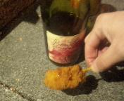 串カツとワイン