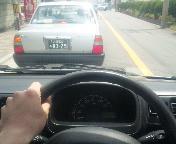 仕事で運転中~