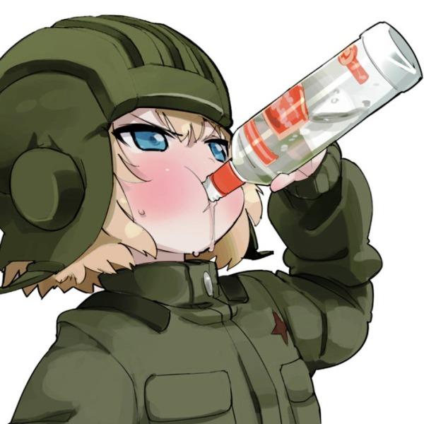 カチューシャ 飲み
