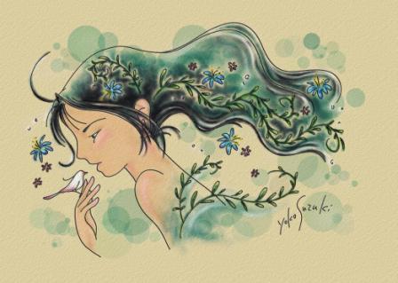 想 ~青緑色の風~