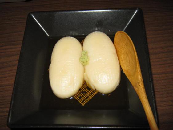 笑楽亭ゴマ豆腐100303