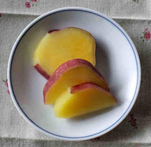 さつま芋のレモン煮110128