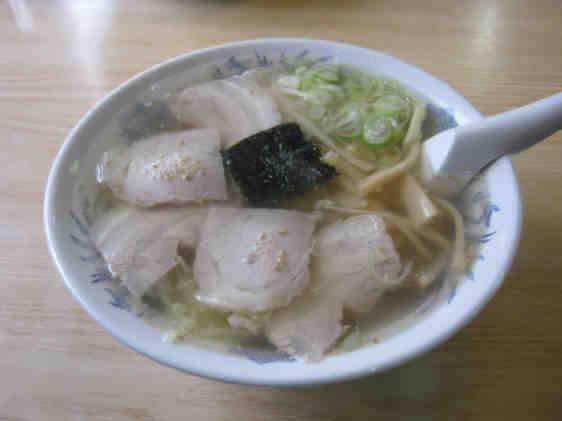 六太郎塩ラーメン110129a