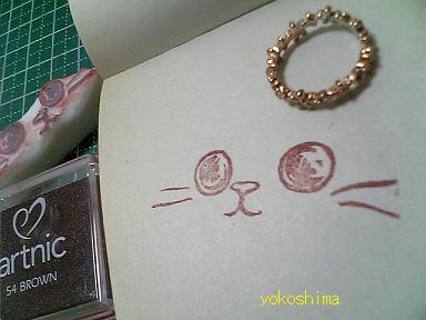 ケシ 猫顔1