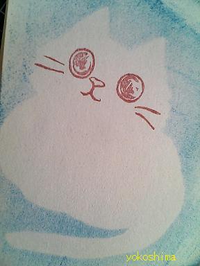 ケシ 猫顔応用7
