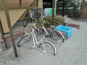bike half in mud