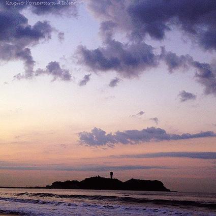 朝の江の島IMG_1504