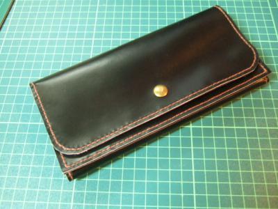 黒い長財布2