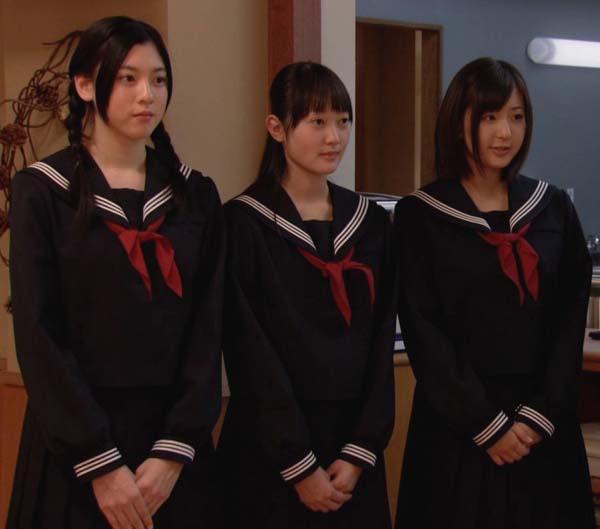 三吉彩花 みよしあやか 高校生レストラン セーラー服