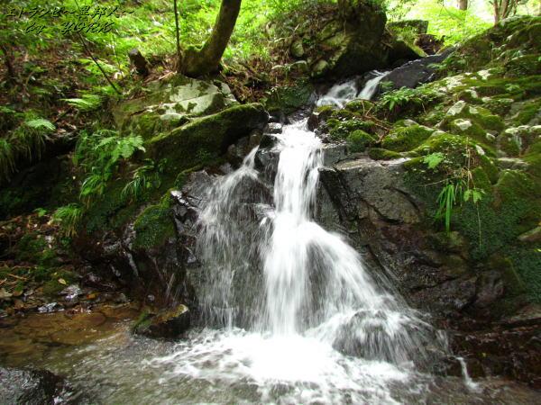 3748屋敷の滝の下の滝140915