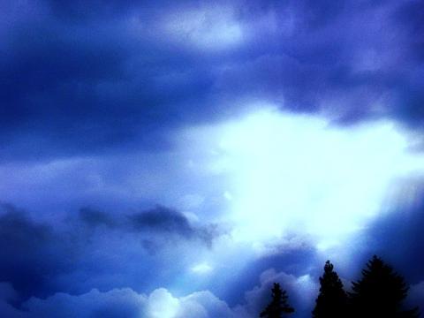 青そして空