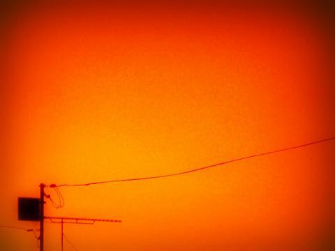 オレンヂ色の空を見て