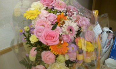 見舞いの花束
