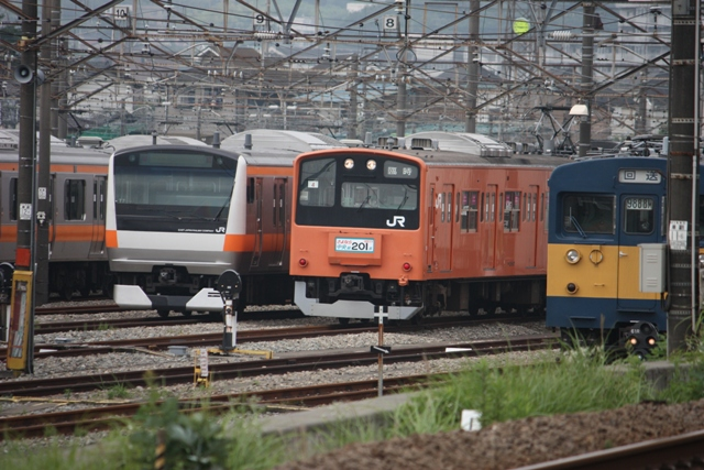 E233系 201系
