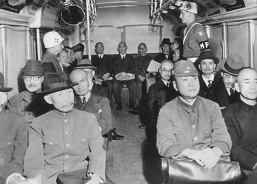 護送中のA級戦犯