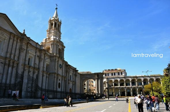 cathedral, Arequipa