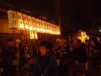 H221001秋祭り灯篭揃い