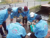 H221128川中島中堰水質検査