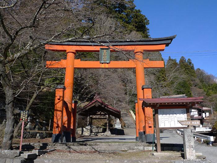 金桜神社 山梨 2