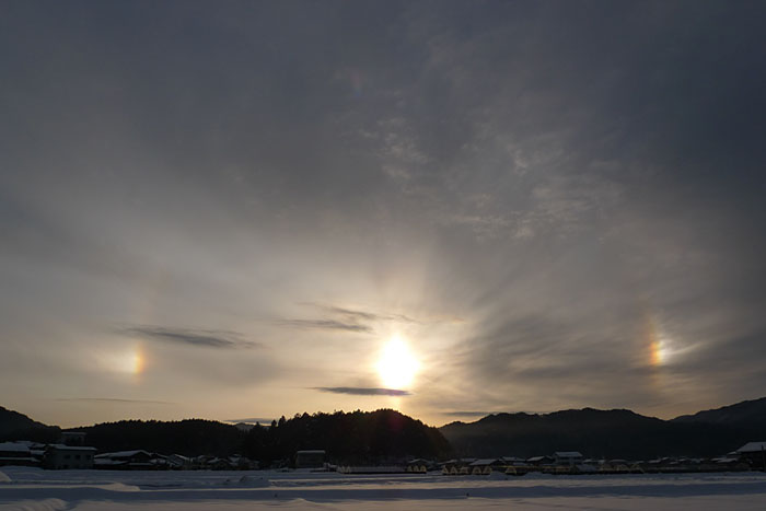 幻日 20130226 飛騨高山