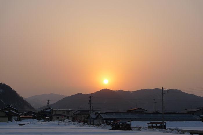 20130306 夕景 PM2.5