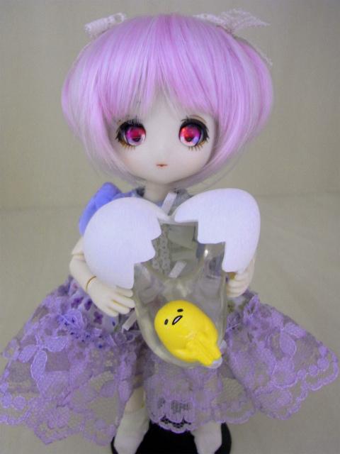 紫髪ショートあまおとめちゃん