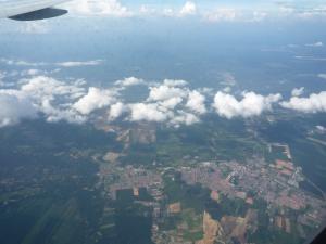飛行機からのマレーシア1