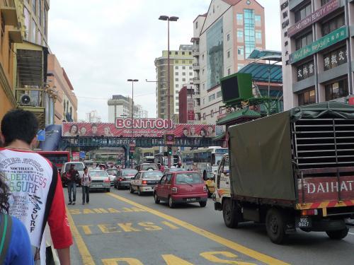 街中の道路