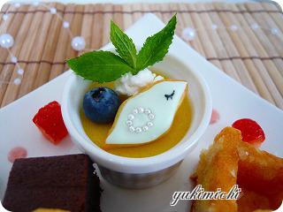 天使のお弁当☆デザート☆green birdのアップ