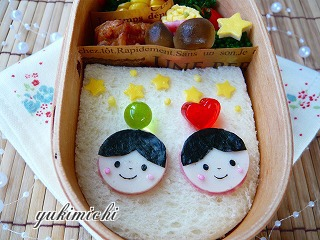 サンドイッチのせおり姫ひこぼし☆お弁当♪アップ