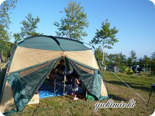 岩内☆テント
