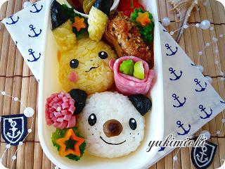 ピカミジュのお弁当☆アップ